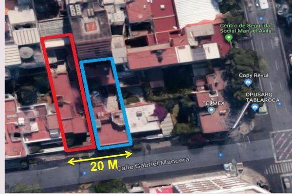 Foto de terreno habitacional en venta en  , del valle sur, benito juárez, df / cdmx, 8331957 No. 01