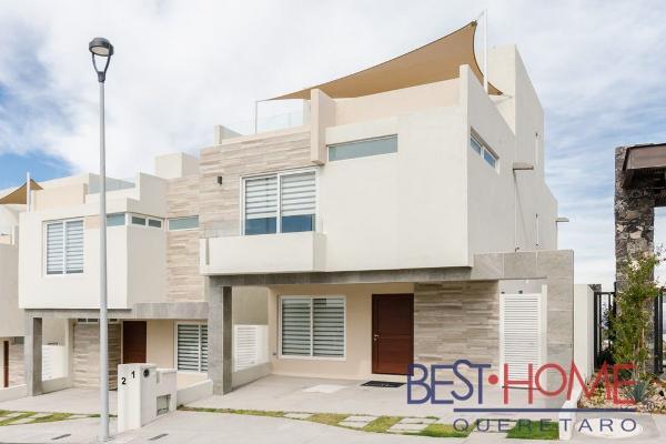 Foto de casa en venta en  , desarrollo habitacional zibata, el marqués, querétaro, 14035781 No. 01
