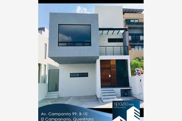 Foto de casa en venta en  , desarrollo habitacional zibata, el marqués, querétaro, 6179651 No. 01