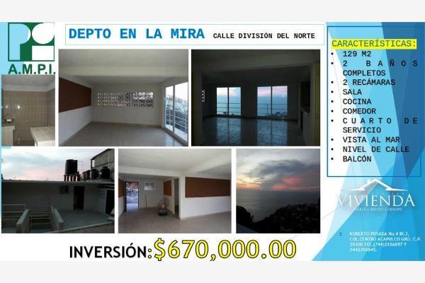 Foto de departamento en venta en division del norte 1, la mira, acapulco de juárez, guerrero, 4585393 No. 08