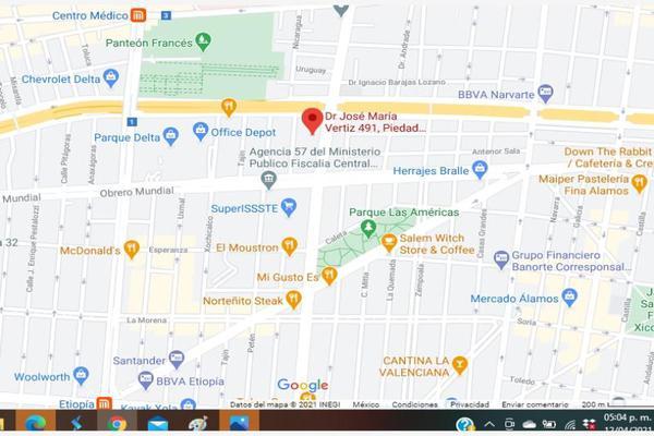 Foto de departamento en venta en doctor jose maria vertiz 491, piedad narvarte, benito juárez, df / cdmx, 0 No. 04