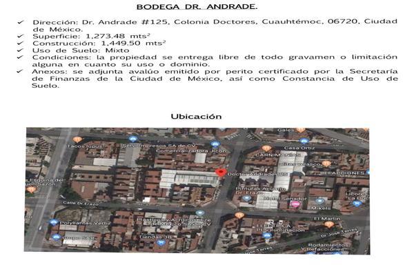 Foto de nave industrial en venta en  , doctores, cuauhtémoc, df / cdmx, 14380578 No. 02