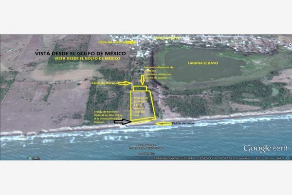 Foto de terreno habitacional en venta en dom conocido 000, el bayo, alvarado, veracruz de ignacio de la llave, 5663064 No. 13