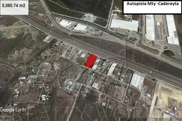 Foto de terreno industrial en venta en  , dulces nombres, pesquería, nuevo león, 8841281 No. 02