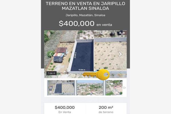 Foto de terreno comercial en venta en durango 0, jaripillo, mazatlán, sinaloa, 19223055 No. 01