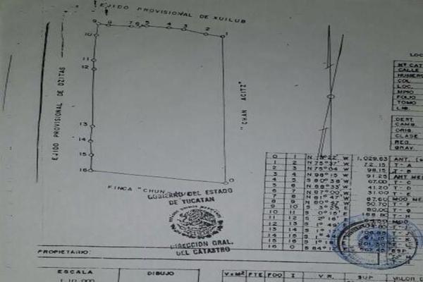 Foto de terreno habitacional en venta en  , dzitas, dzitás, yucatán, 7860811 No. 02