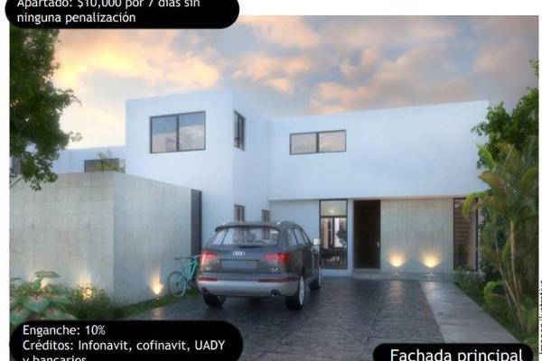 Foto de casa en venta en dzitya dzitya, dzitya, mérida, yucatán, 6156672 No. 01