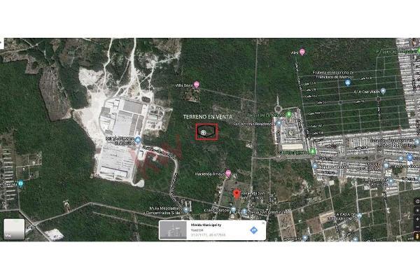 Foto de terreno habitacional en venta en  , dzitya, mérida, yucatán, 11438844 No. 01