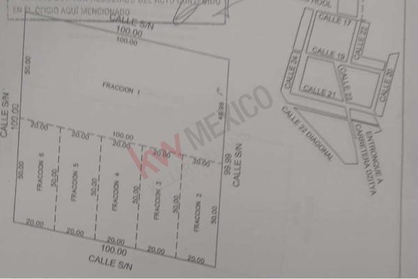 Foto de terreno habitacional en venta en  , dzitya, mérida, yucatán, 11438844 No. 02