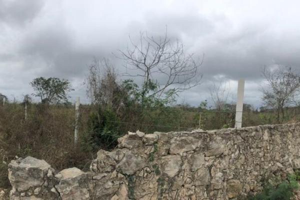Foto de terreno habitacional en venta en  , dzitya, mérida, yucatán, 14028536 No. 01