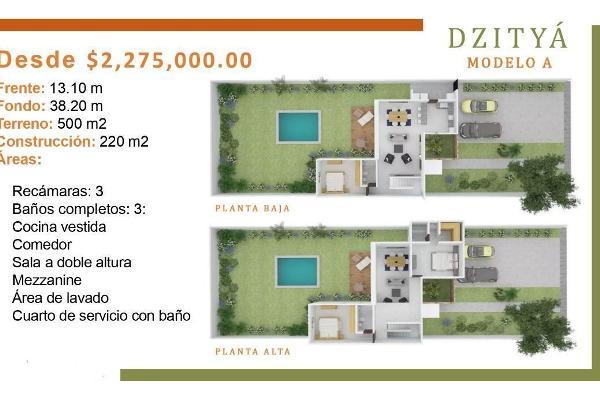 Foto de casa en venta en  , dzitya, mérida, yucatán, 14038926 No. 04