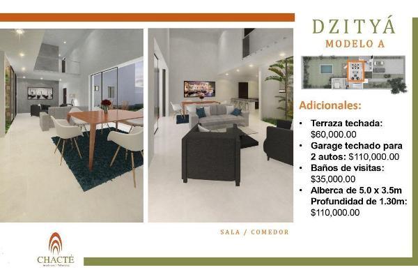 Foto de casa en venta en  , dzitya, mérida, yucatán, 14038926 No. 05