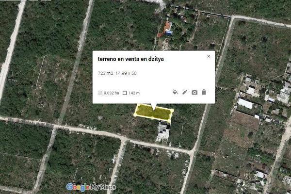 Foto de terreno habitacional en venta en  , dzitya, mérida, yucatán, 3119991 No. 01