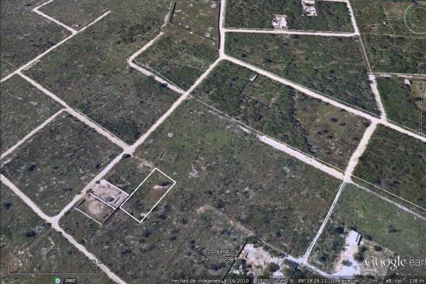Foto de terreno habitacional en venta en  , dzitya, mérida, yucatán, 3119991 No. 06