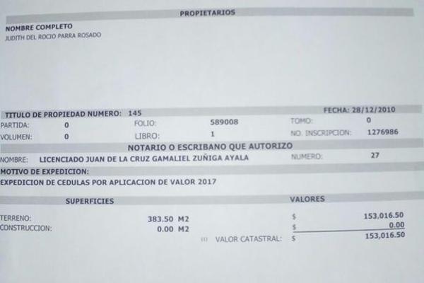 Foto de terreno habitacional en venta en  , dzitya, mérida, yucatán, 3424886 No. 03