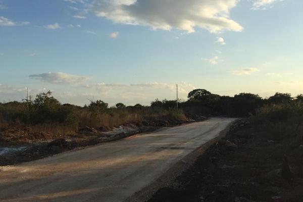 Foto de terreno habitacional en venta en  , dzitya, mérida, yucatán, 5684830 No. 02