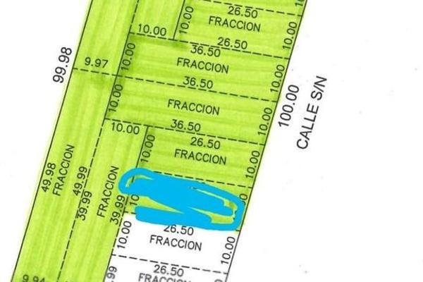 Foto de terreno habitacional en venta en  , dzitya, mérida, yucatán, 5684830 No. 03