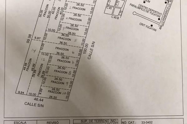 Foto de terreno habitacional en venta en  , dzitya, mérida, yucatán, 5684830 No. 07