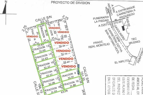 Foto de terreno habitacional en venta en  , dzitya, mérida, yucatán, 5886150 No. 07