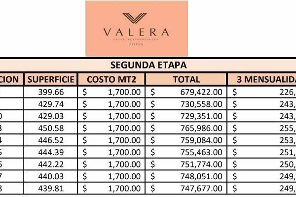 Foto de terreno habitacional en venta en  , dzitya, mérida, yucatán, 5886150 No. 08