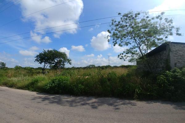 Foto de terreno habitacional en venta en  , dzitya, mérida, yucatán, 5911201 No. 01