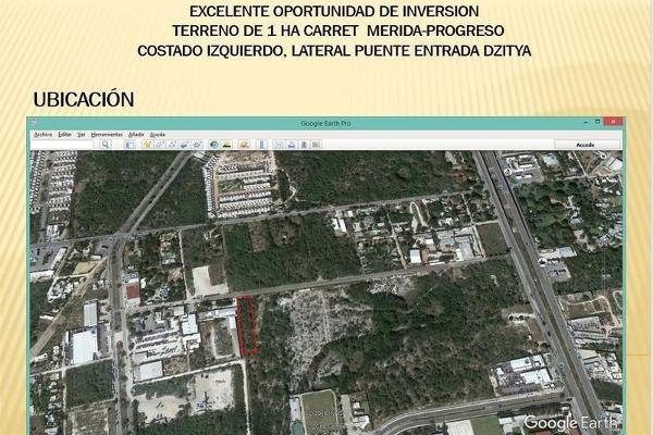 Foto de terreno habitacional en venta en  , dzitya, mérida, yucatán, 7860661 No. 03