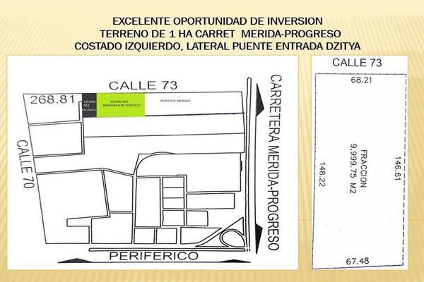 Foto de terreno habitacional en venta en  , dzitya, mérida, yucatán, 7860661 No. 04