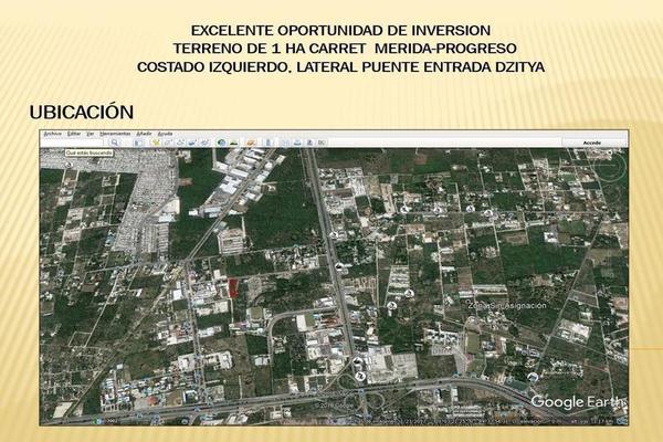 Foto de terreno habitacional en venta en  , dzitya, mérida, yucatán, 7860661 No. 05