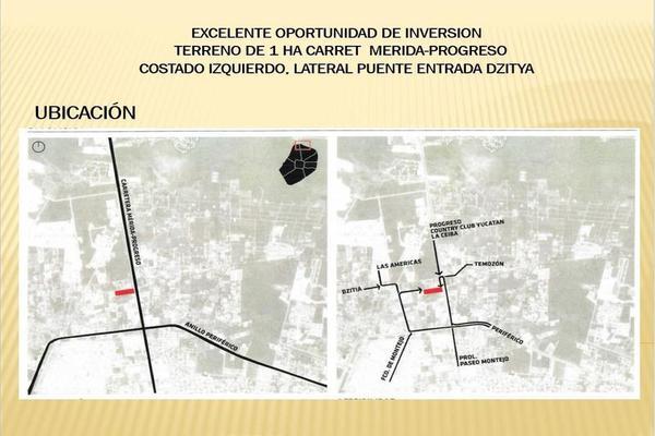 Foto de terreno habitacional en venta en  , dzitya, mérida, yucatán, 7860661 No. 07