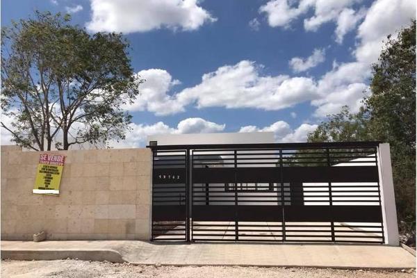 Foto de casa en venta en  , dzitya, mérida, yucatán, 7974793 No. 01