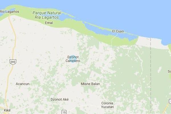 Foto de terreno habitacional en venta en  , dzonot carretero, tizimín, yucatán, 7858286 No. 01