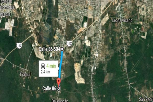 Foto de terreno habitacional en venta en dzununcan , dzununcán, mérida, yucatán, 6189969 No. 01