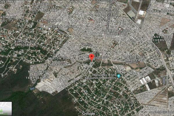 Foto de terreno habitacional en venta en ebano , tierra propia sector 2, guadalupe, nuevo león, 7157901 No. 02