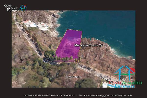 Foto de terreno habitacional en venta en editar 0, brisas del mar, acapulco de juárez, guerrero, 8872879 No. 03