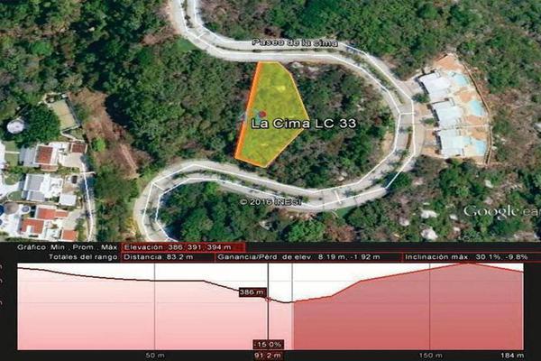 Foto de terreno habitacional en venta en editar 0, la cima, acapulco de juárez, guerrero, 8874440 No. 04