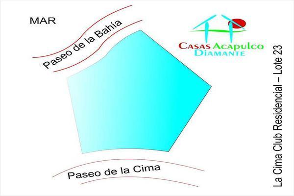 Foto de terreno habitacional en venta en editar 0, la cima, acapulco de juárez, guerrero, 8878807 No. 01
