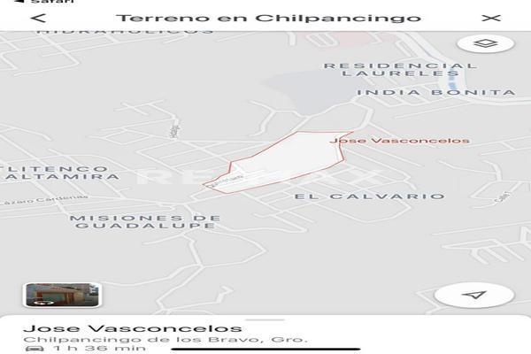 Foto de terreno habitacional en venta en eduardo nava , electricistas, chilpancingo de los bravo, guerrero, 5643093 No. 01