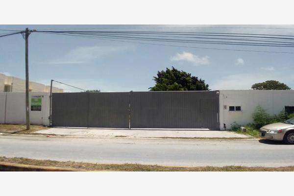 Foto de terreno industrial en renta en edzna 00, mundo maya, carmen, campeche, 7128258 No. 01
