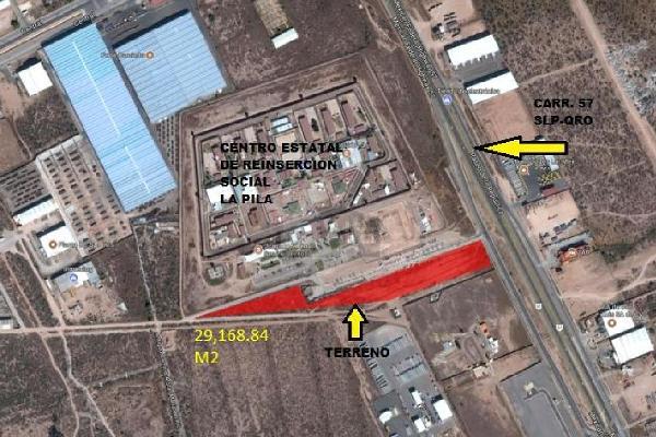 Foto de terreno industrial en venta en eje 140 , rancho las bombas, san luis potosí, san luis potosí, 12767700 No. 01