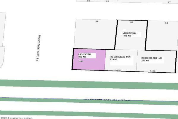 Foto de terreno habitacional en venta en eje centra , vallejo, gustavo a. madero, df / cdmx, 0 No. 05