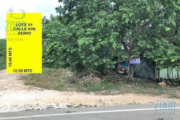 Foto de terreno habitacional en venta en  , ejidal, solidaridad, quintana roo, 9218478 No. 01