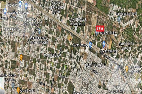 Foto de terreno habitacional en venta en  , ejido de chuburna, mérida, yucatán, 15233483 No. 03