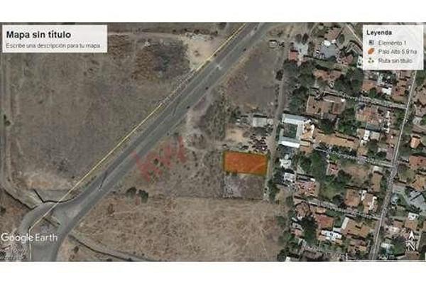 Foto de terreno habitacional en venta en ejido los olvera a 60 m. de prolongacion amsterdam , los olvera, corregidora, querétaro, 5973381 No. 01