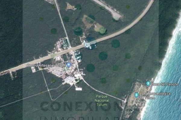 Foto de terreno habitacional en venta en  , ejido, tulum, quintana roo, 6178803 No. 01