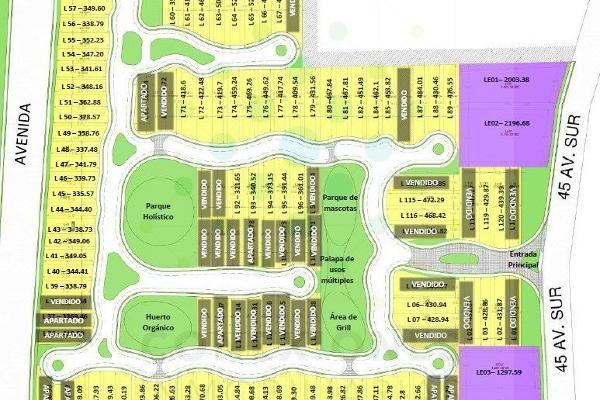 Foto de terreno habitacional en venta en  , ejido, tulum, quintana roo, 6179976 No. 09
