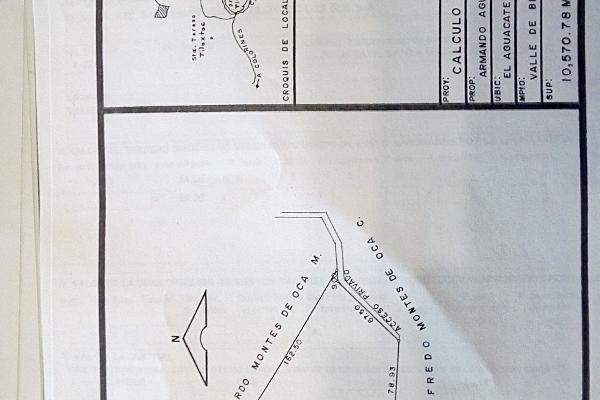 Foto de terreno habitacional en venta en el aguacate , santa magdalena tilostoc, valle de bravo, méxico, 5301918 No. 07