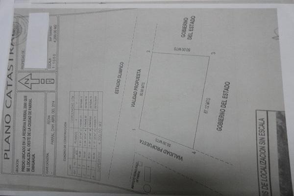 Foto de terreno habitacional en venta en  , el alamillo, hidalgo del parral, chihuahua, 7988361 No. 02