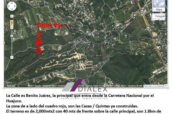 Foto de terreno habitacional en venta en  , el barrial, santiago, nuevo león, 8681023 No. 01