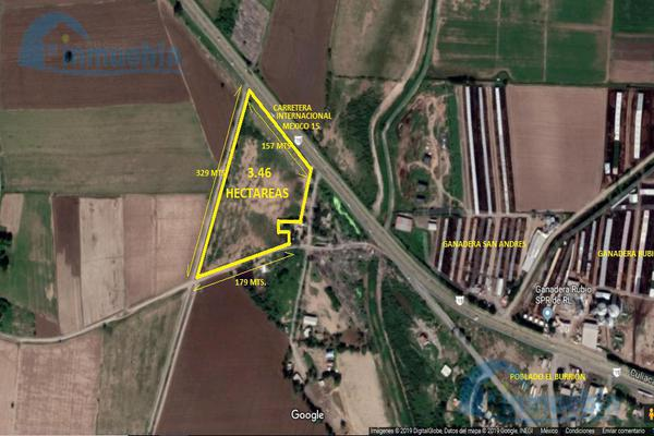 Foto de terreno habitacional en venta en  , el burrión, guasave, sinaloa, 8788581 No. 01