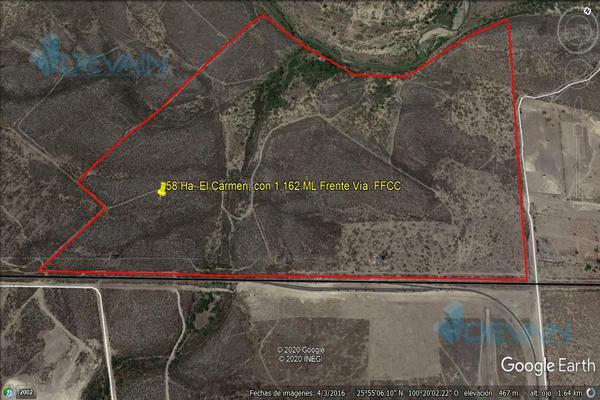 Foto de terreno habitacional en venta en  , el carmen, el carmen, nuevo león, 17808547 No. 01